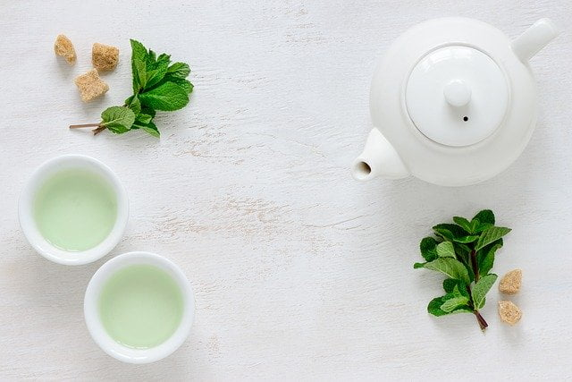 What to eat with green tea for breakfast