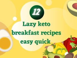 lazy keto breakfast recipes