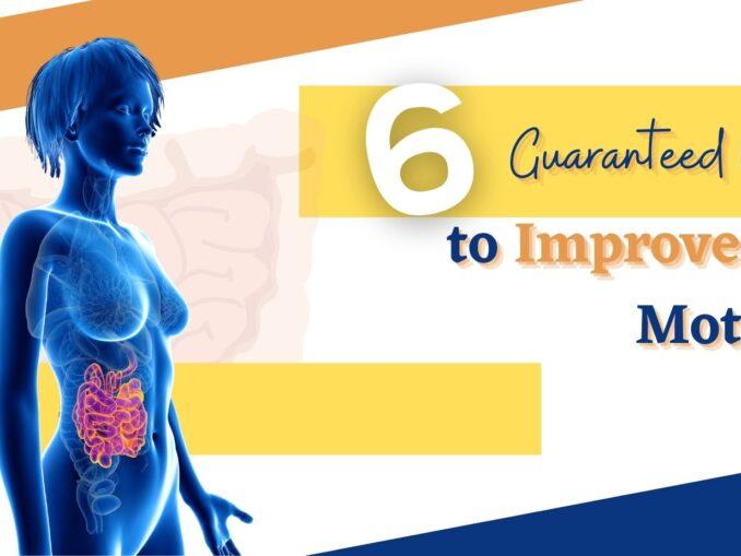 improve gut motility
