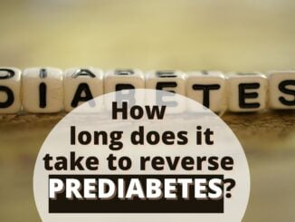 How long does it take to reverse prediabetes