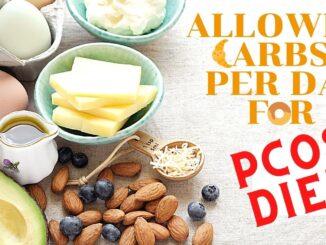 pcos carbs per day
