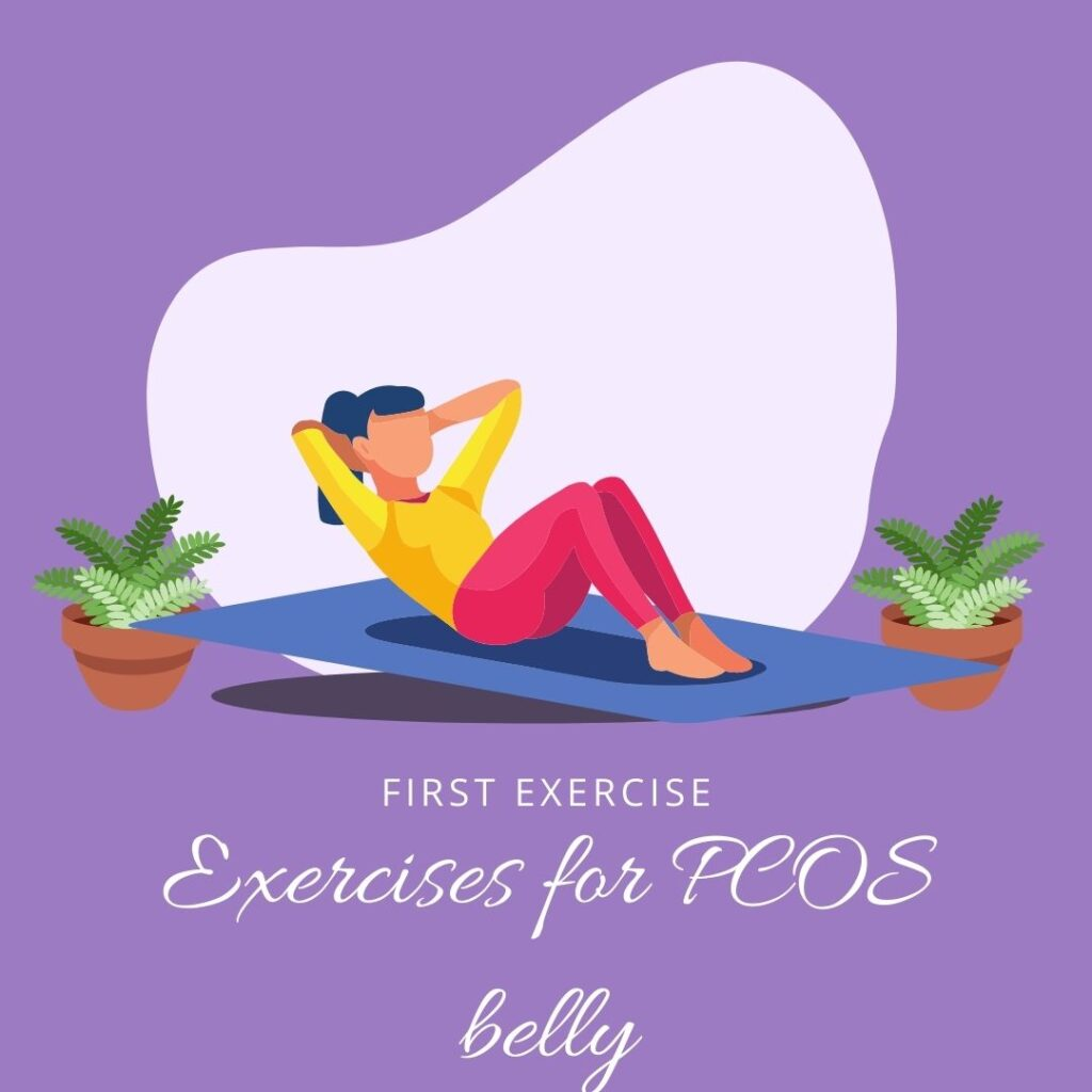 Exercises for PCOS belly